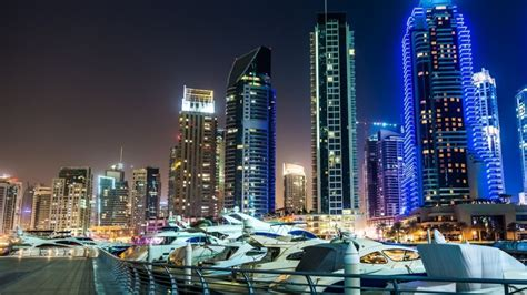 Dubai Marina View Hd Wallpaper
