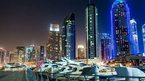 Dubai Marina View Hd Wallpaper Wallpaperfx
