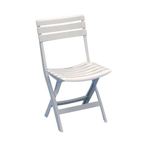 chaise de jardin pliante pas cher fauteuil de jardin pliante en pvc blanc