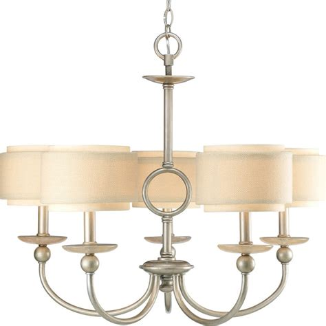 progress lighting p4462 134 5 light chandelier with