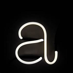 seletti neon wall light letter a free uk delivery With neon wall letters