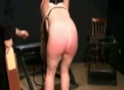 My Tied Up Wife Is Strapped And Spanked Hard On The Ass