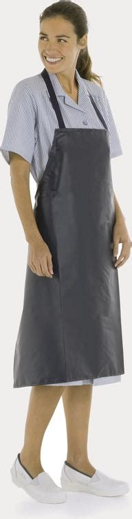 blouse cuisine femme tablier plastifie pvc tb13 tablier vêtements de cuisine professionnel