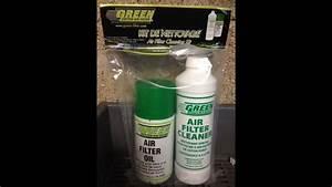 Green Filtre à Air : entretien nettoyage filtre a air kn ou green youtube ~ Medecine-chirurgie-esthetiques.com Avis de Voitures