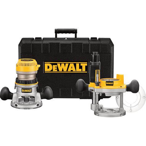 Free Shipping — Dewalt Heavyduty Fixed Base Router Kit