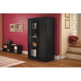 south shore morgan collection storage cabinet pure black