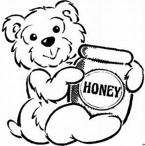 Baerchen Mit Honig Ausmalbild Malvorlage Kinder