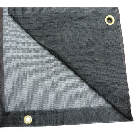 ptm black polypropylene mesh tarp    tmi