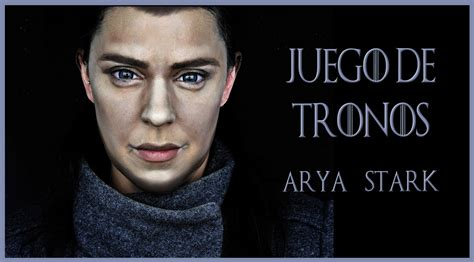 Maquillaje Transformación En Arya Start, Serie Juego De