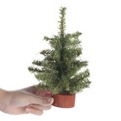 small artificial pine tree trees and toppers and winter crafts