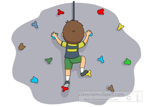 Image result for climbing wall clipart