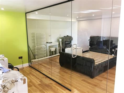 Bedroom Ls Glass by Glass Partitioning At Domestic Property Newhaven East