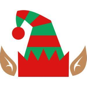 silhouette design store elf hat christmas crafts elf