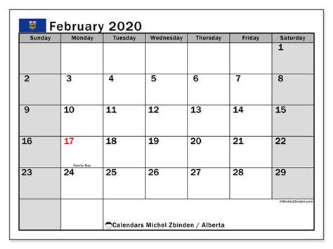 february  calendar alberta canada michel zbinden en