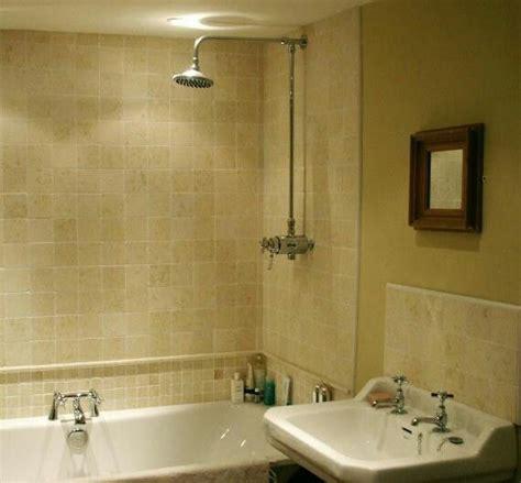 Tiled Bathroom Ideas by Half Tiled Bathroom Home Half Tiled Bathroom