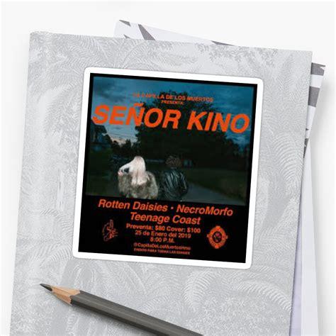 senor kino sticker by ferni144 redbubble