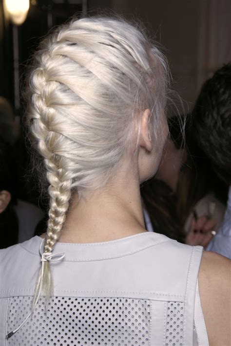 stunning french braids  love