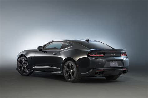 2016 Chevy Camaro Black Concept At Sema