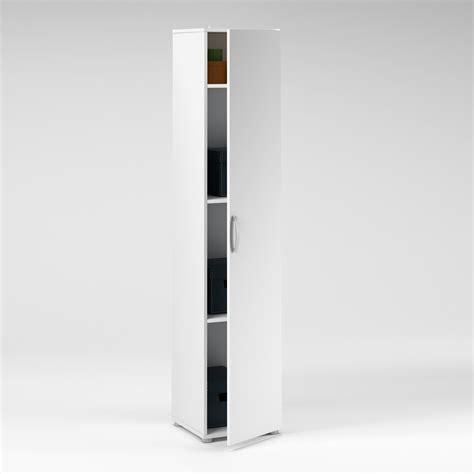 colonne cuisine 50 cm largeur colonne 1 porte longueur 35 x hauteur 175cm blanc port offert
