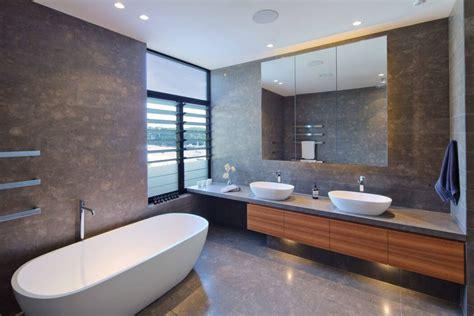 cuisine plan de travail bois massif moderne maison avec vue splendide au cœur de sydney