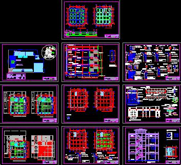 project school laboratory maked  tubest dwg full