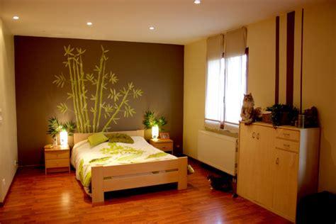 chambre zen  bambou photo