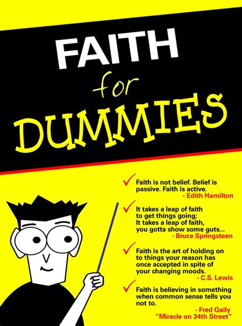 For Dummies by Brandofothers Faith For Dummies