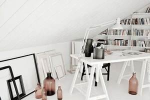 Büro Zuhause Einrichten : finnische innenarchitekten haben ihr b ro zu hause auf dem ~ Michelbontemps.com Haus und Dekorationen