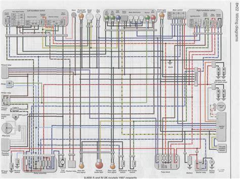 yamaha xj600 wiring diagram headlight better wiring diagram