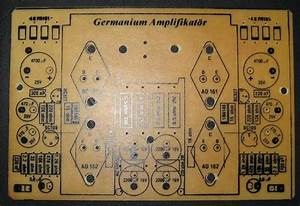 Germanium Transistor Amplifier Circuit