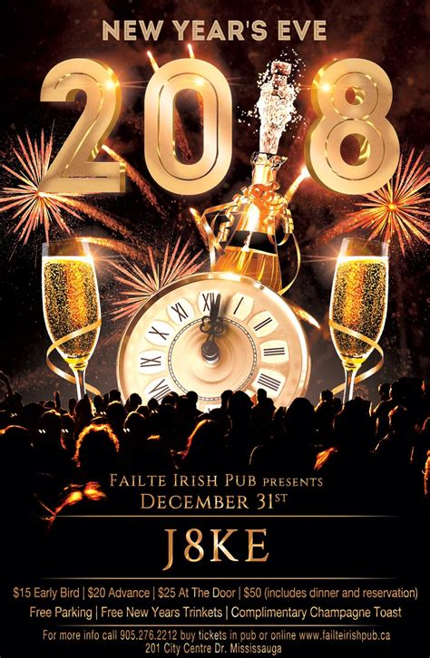 New Year's Eve @ Failte Irish Pub | insauga.com