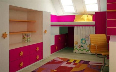 chambre fille lit mezzanine idee deco chambre fille lit mezzanine visuel 4