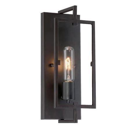 outdoor industrial lighting fixtures cordelia lighting 1 light vintage bronze wall sconce 15016