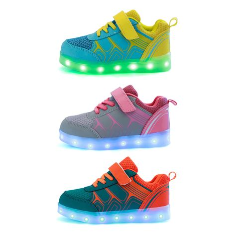 Boys Light Up Shoes by 49 Light Up Shoes For 7 Colors Children Shoes With