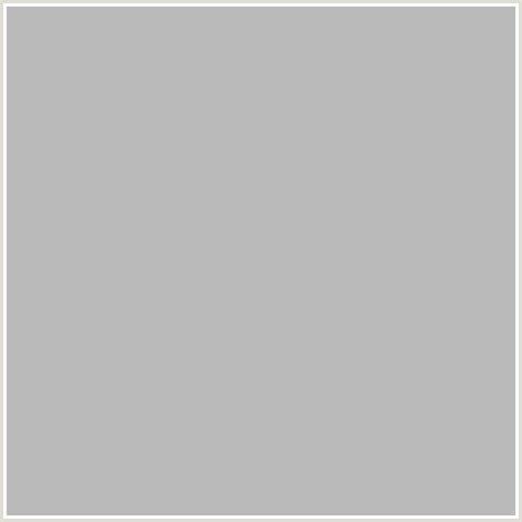 silver hex color bababa hex color rgb 186 186 186 gray grey silver