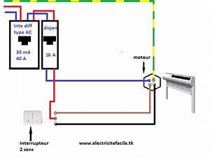 Branchement Volet Roulant électrique : sch ma de branchement volet roulant lectrique schema ~ Melissatoandfro.com Idées de Décoration