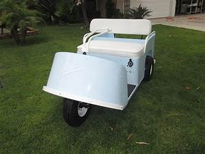 My Buddy Restored A 1955 Cushman Golf Cart  He Says There