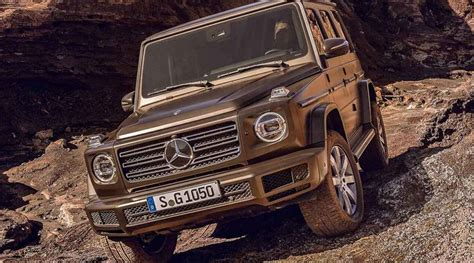 Final Design For 2019 Mercedes-benz G-class Leaked