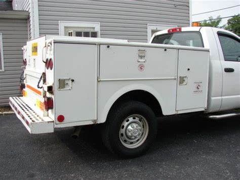 Stahl Utility Bed by Buy Used Clean Stahl Utility Bed Fleet Maintained Truck