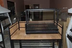 Grille Barbecue Sur Mesure : pro 125 avec foyer lat ral barbecues argentins ~ Dailycaller-alerts.com Idées de Décoration