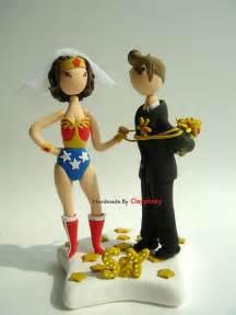 Wonder Woman Wedding Cake Topper