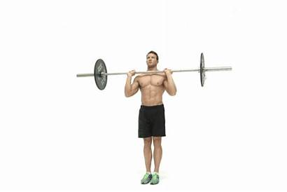 Press Military Overhead Shoulder Barbell Gym Six
