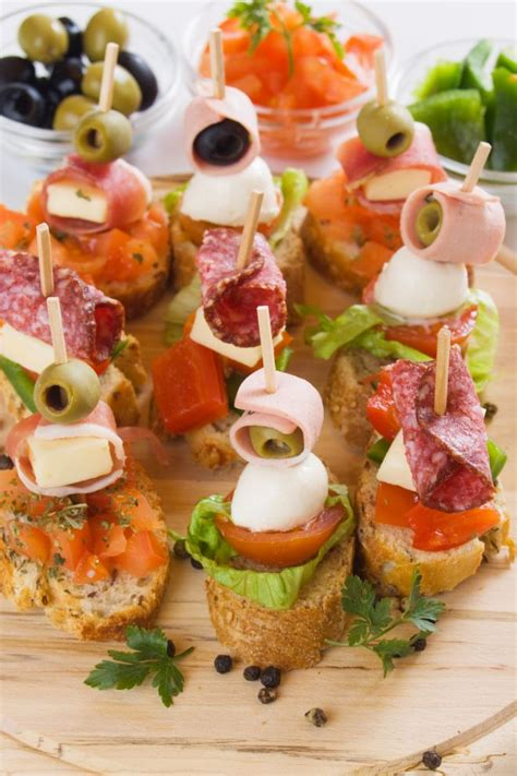 canapes finger food buffet di matrimonio fatto in casa risparmiare di