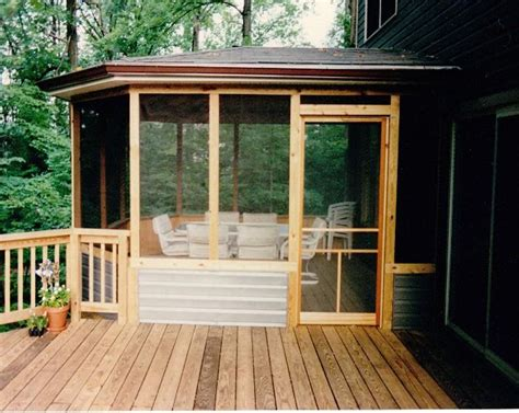 side porch designs screen porch ideas tie in to side of house outdoor