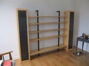 Fabrication Sur Mesure D39une Bibliothque Avec 5 Tagres