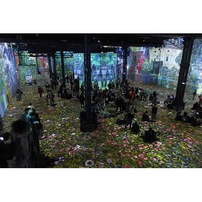 Atelier des lumieres-Paris-Klimt-06 - Good Morning Paris
