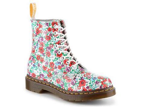 Martens Pascal Floral Combat Boot Dsw