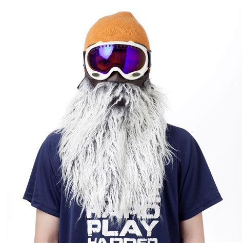 beardski bearded ski mask