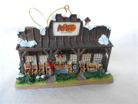 cracker barrel old country store christmas tree ornament