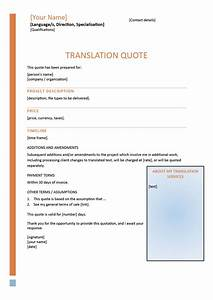 how to write compelling translation quotes With letter translation services